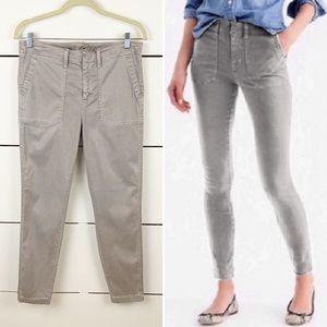 """J. CREW 9"""" Cargo Toothpick Pants"""